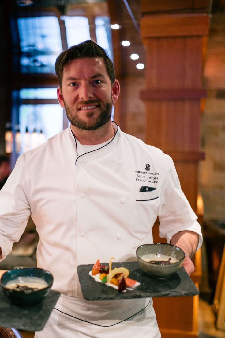 Chef Mark Jeffers at Manzanita Restaurant at The Ritz-Carlton, Lake Tahoe, The Taste SF #travel #california #tahoe #hotel #ritzcarlton #truckee #ski #snow #northstar #restaurant