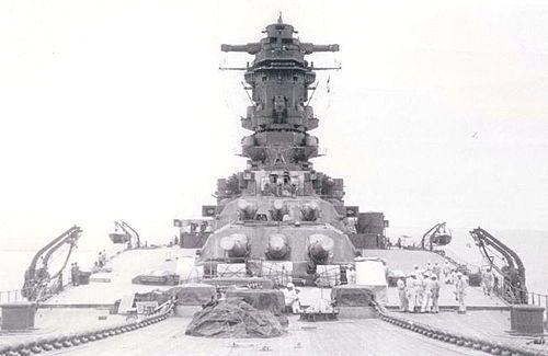 Yamato battleship type Musashi
