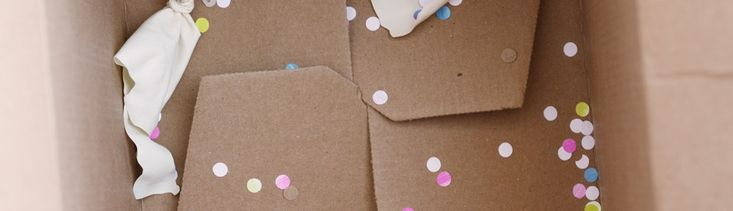 DIY Creative Father's Day Gift_Popped Balloon Confetti