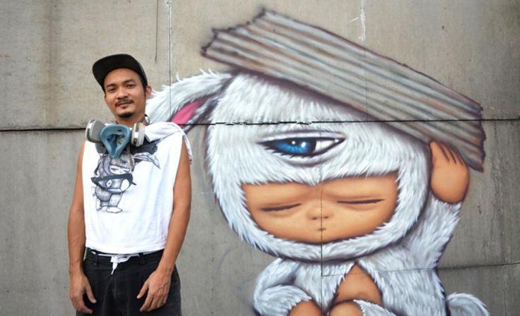 Bangkok Street Artist Alex Face on Making Friends (and Enemies) Through Graffiti