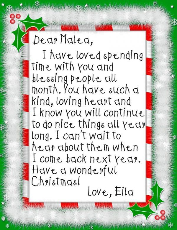 Best 25 goodbye letter from elf ideas on pinterest letter from acts of kindness elf letter goodbye letter from our elf that thanks our daughter for pronofoot35fo Images