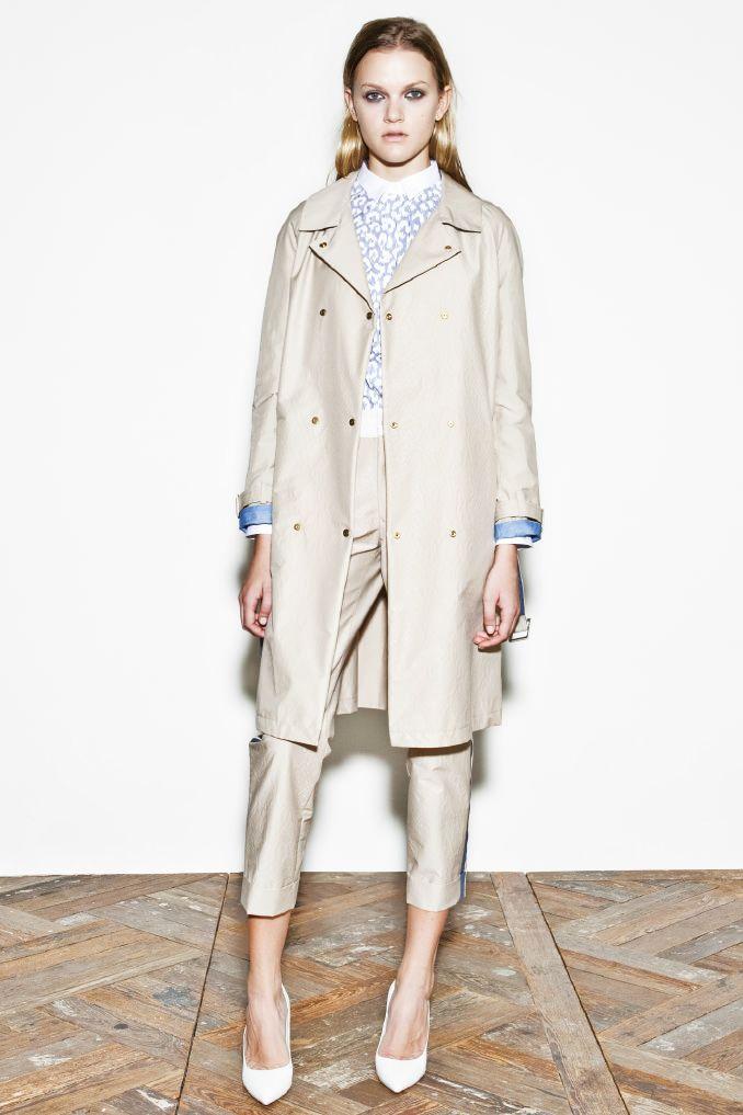 kiminori morishita garments lab inc. — womens Light blue is important to this…