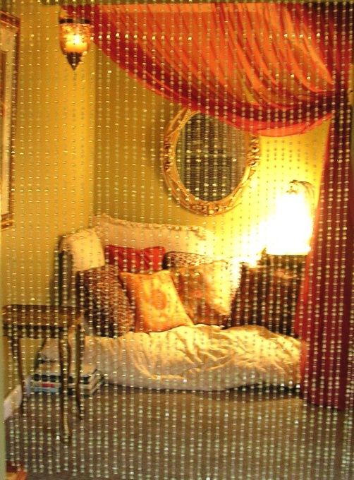 The Woman Cave (Eclectic Girly-Hippie Chic) Guest Room / Office / Meditation Nook in the basement!