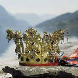 Lustra Bridal Crown from Sogn of Fjordene, Norway