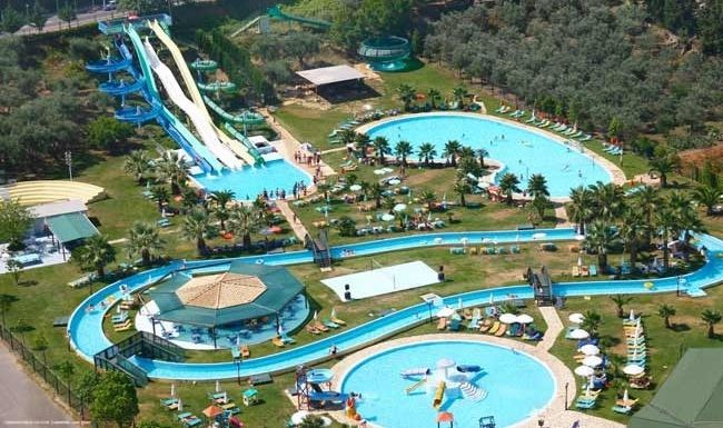 5* Gelina Village Waterpark in Acharavi, Corfu, Greece. Book it cheap with…