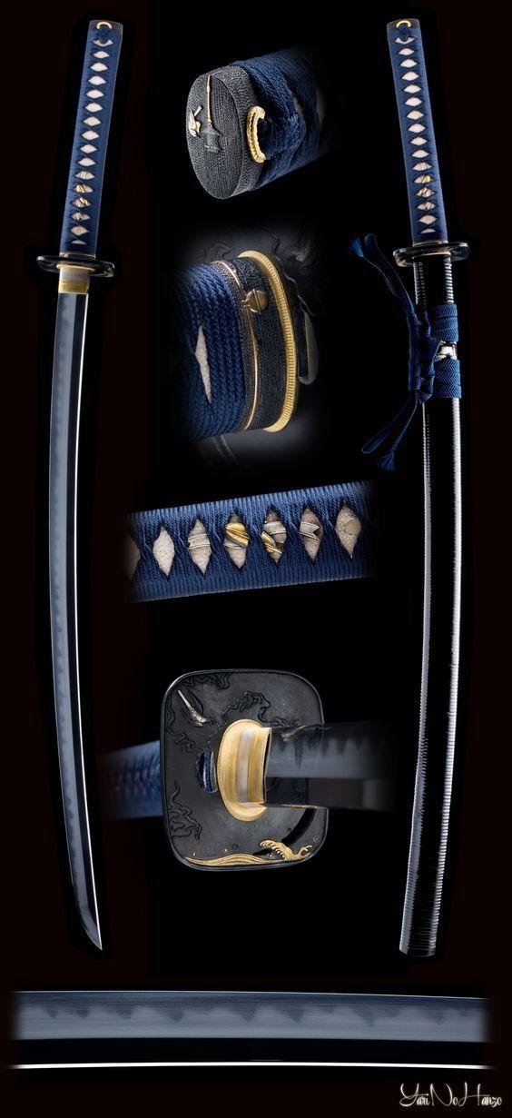 39 best japanese samurai swords images on pinterest. Black Bedroom Furniture Sets. Home Design Ideas