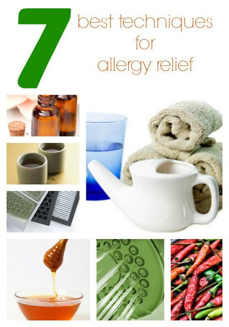 7 Tips on How to Relieve your worst Allergy Symptoms