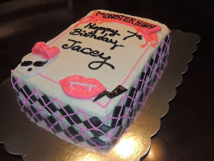 Birthday Monster Cake