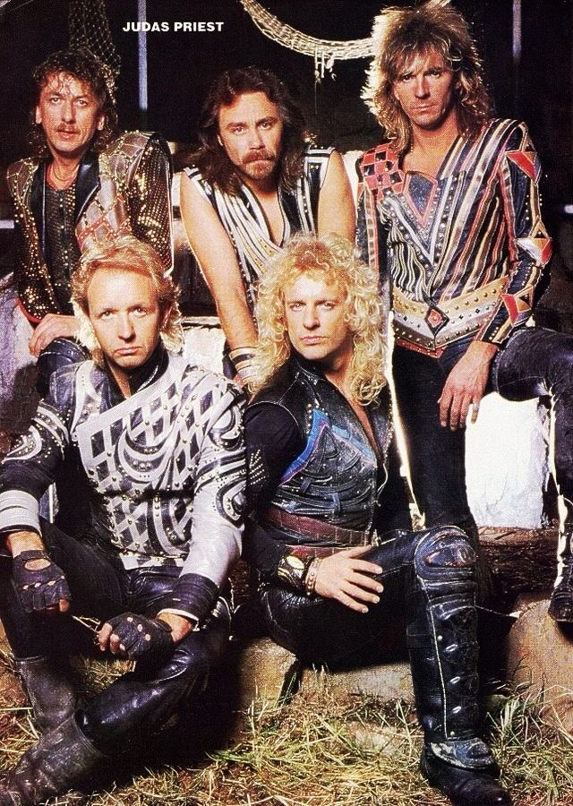 Judas Priest in the 80's