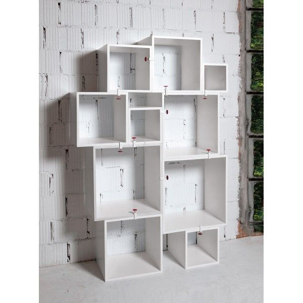 Seletti Assemblage kubus design kast wit