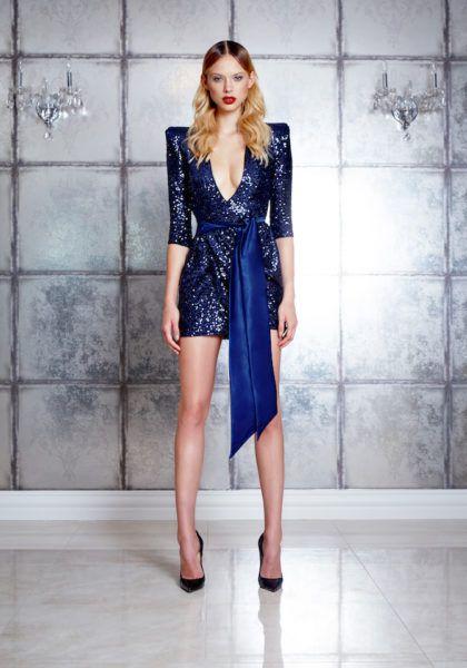 Zhivago - Never Again Dress - Midnight