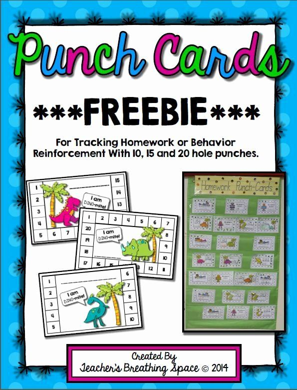 Behavior Punch Card Template Inspirational 50 Punch Card Templates For Every Business Boo Behavior Punch Cards Classroom Behavior Management Classroom Behavior