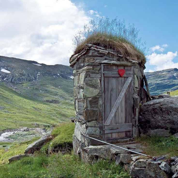 Stone Out House. Norway