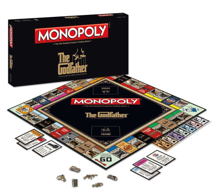 MONOPOLY: The Godfather Edition...
