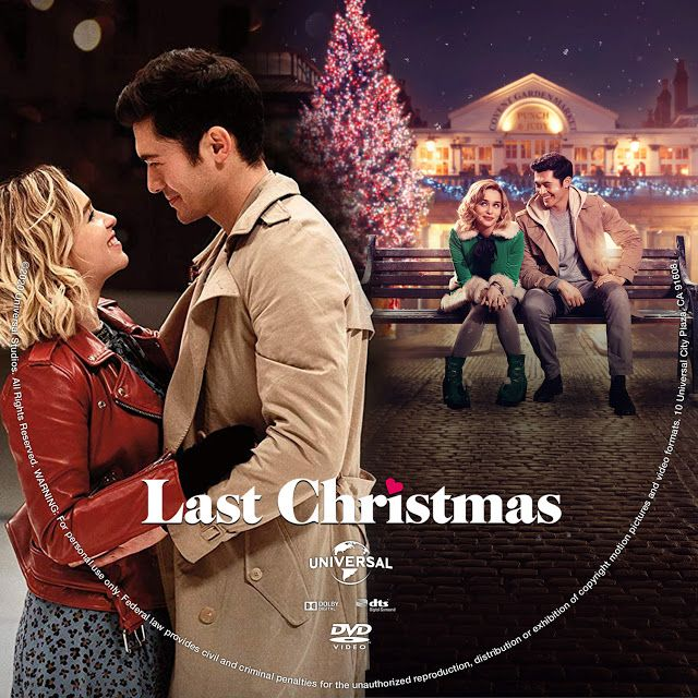 Last Christmas Dvd Label In 2020 Dvd Label Christmas Dvd Last Christmas