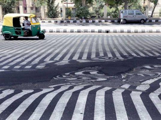 india, heat wave, heatwave, climate change, deaths from heat stroke, melting streets, melting asphalt, india heat 2015