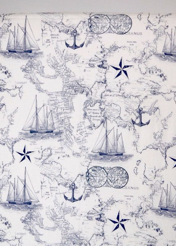 Hey, I found this really awesome Etsy listing at https://www.etsy.com/listing/276596388/nautical-crib-sheet-nautical-nursery