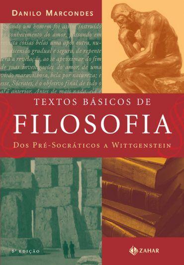 Baixar Livro Textos Básicos de Filosofia - Danilo Marcondes em PDF, ePub e Mobi ou ler online