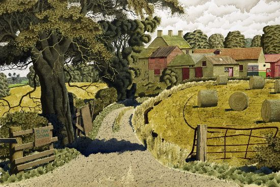"""""""Riding Country"""" by Simon Palmer"""