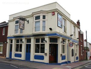 The Three Marines, Southsea.A 19th Century pub that was renamed from The Royal Oak to the Three Marines in 1958.