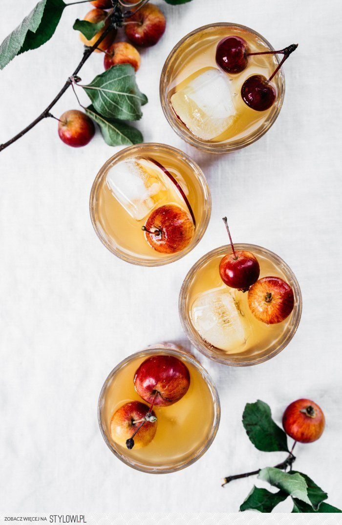 Ginger Apple Spritzer | TENDING the TABLE na Stylowi.pl