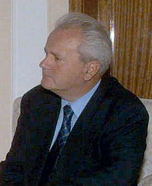 Slobodan Milosevich, President of Serbia and Yugoslavia.  Responsible for war crimes and genocide during wars in Bosnia, Croatia and Kosovo in the former Yugoslavia.