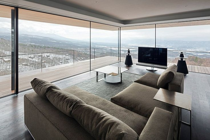 Talk about living on the edge! This modern mountain house designed by Japanese architecture firm Kidosaki Architects Studio features incredible views, perched on the side of the Yatsugatake Mountains in...