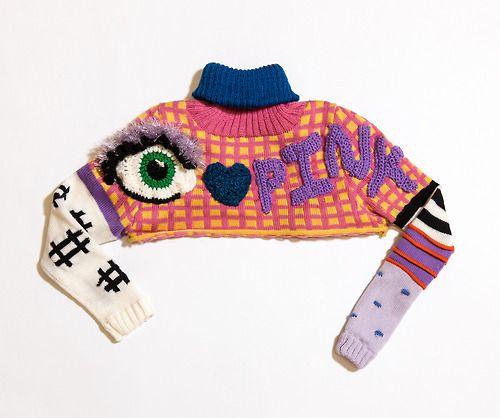 degen-nyc:  knit cropped sweater by DEGEN for the Voctoria's Secret Fashion Show