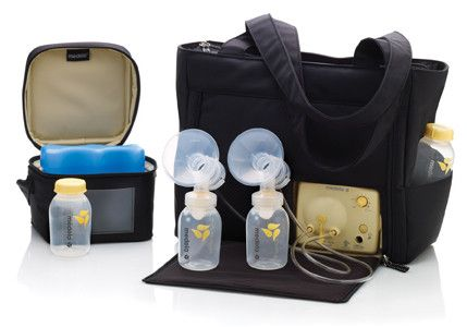 Pump In Style Advanced is a daily use breastpump designed for moms who pump several times a day. All Pump In Style Advanced breastpumps offer portable convenience for discreet pumping anywhere. Kit in