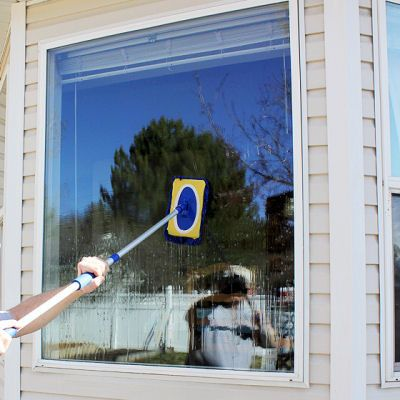 Streak free window cleaner Printable Instructions: http://myhoneysplace.com/homemade-streak-free-window-cleaner/