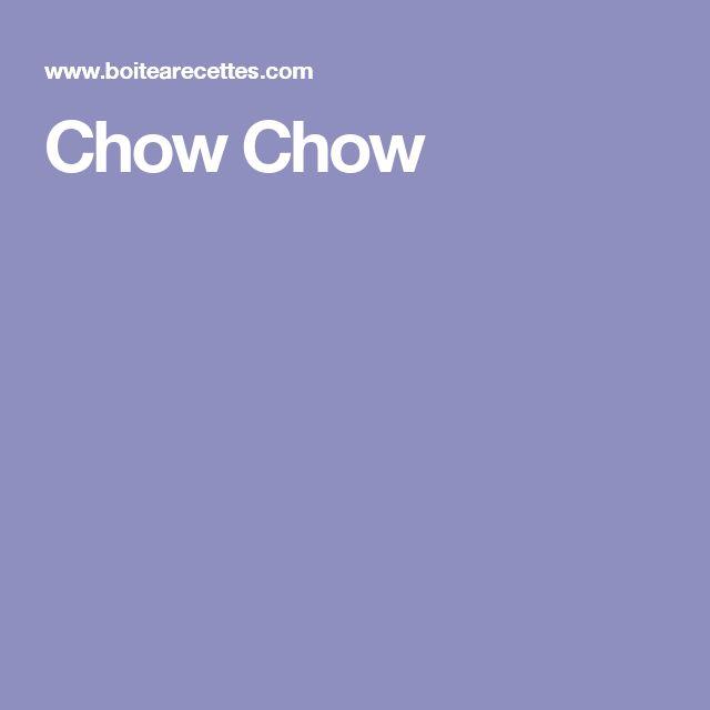 Chow Chow-chow ajouter 2 tasses de chou-fleur 2 tasses de céleri