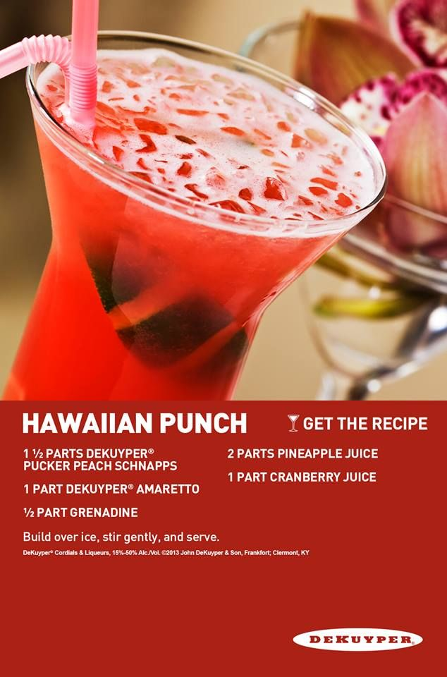 Hawaiian Punch | drinks | Pinterest | Posts, Punch and Salads