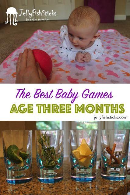 JellyFishSticks: Baby Games: Three Month Olds