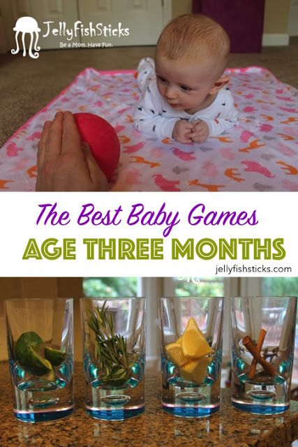 JellyFishSticks: Baby Games: Three Month Olds