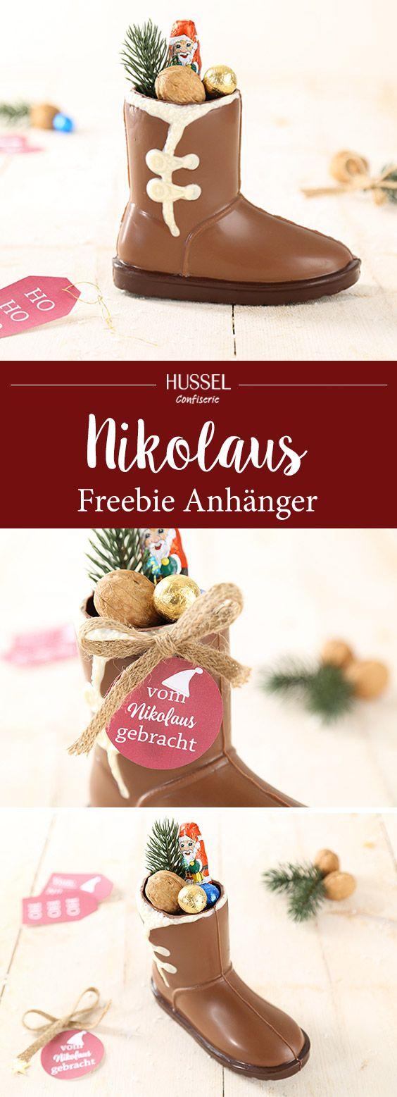 Nikolausstiefel befüllen - Hussel Confiserie