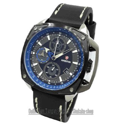 Jam Tangan Expedition E-6646 Silver Black Blue Rp 1,080,000  | BB : 21F3BA2F | SMS :083878312537