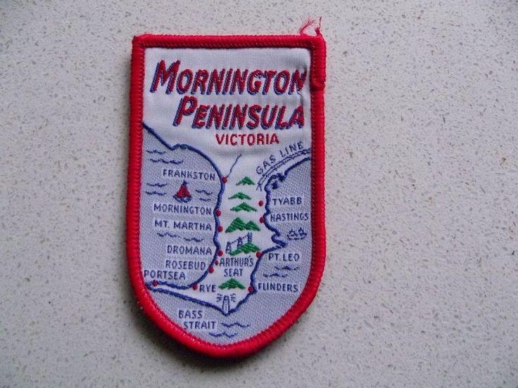 Great patch of Mornington Peninsula with map. This one sold in late February 2015 for $15.50. Several have been sold lately...