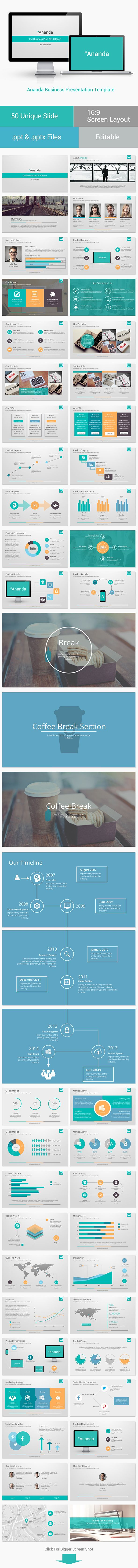 Ananda Powerpoint Business Presentation - Business Powerpoint Templates