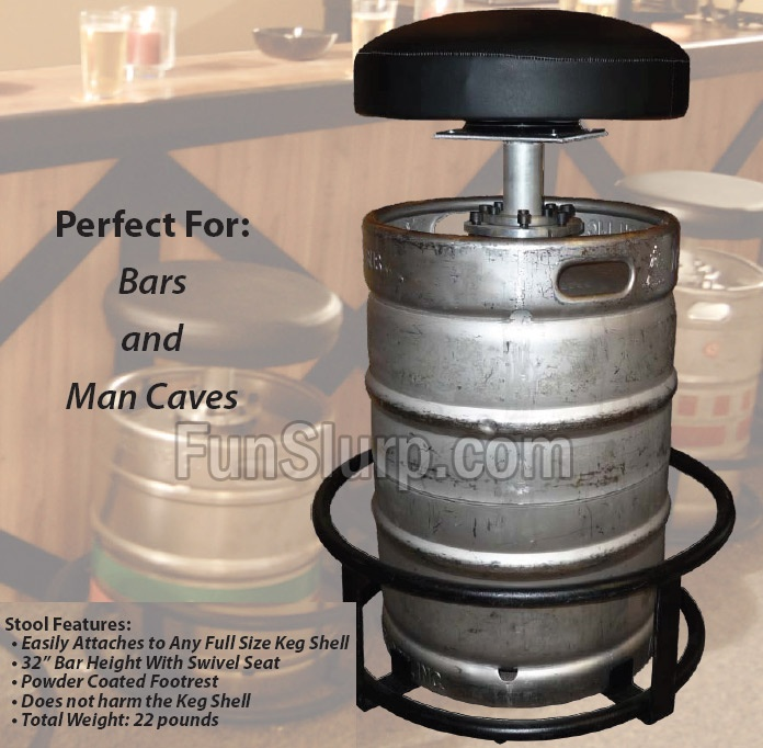 how to set up a keg at home