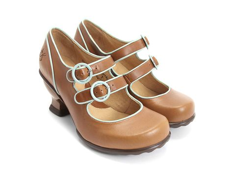 I like these shoes as an alternative to the victorian boot idea. Might have to Check out the Fluevog Liz in Cherry Creek