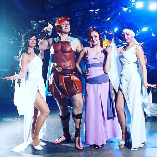 Мы прям классные :) #hercules #АваЭкспо #AvaExpo2015 #AvaExpo #cosplay #disney #disneycosplay
