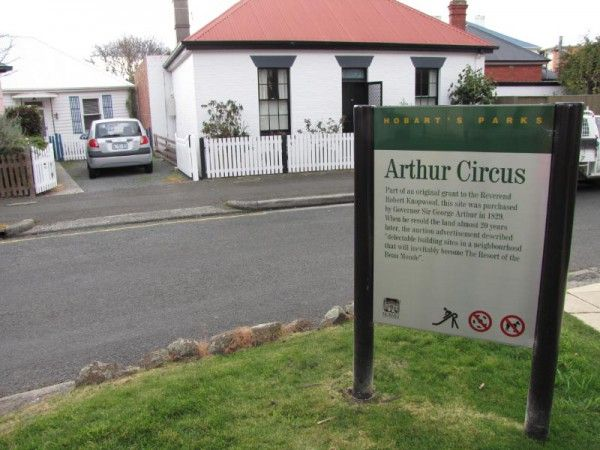 Arthur Circus, Battery Point Hobart