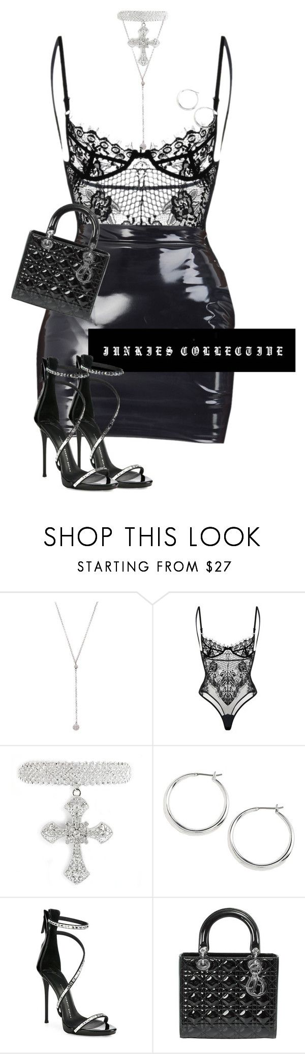 """""""The 807"""" by junkiescollective ❤ liked on Polyvore featuring Bavna, Lauren Ralph Lauren, Giuseppe Zanotti and Christian Dior"""