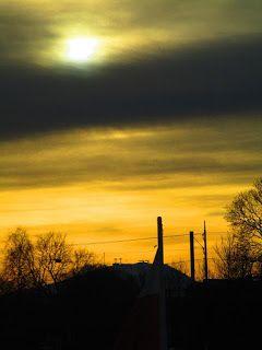 Satu Ylävaaran valokuvia: Auringonnousu Tukholmassa 19.1.2016