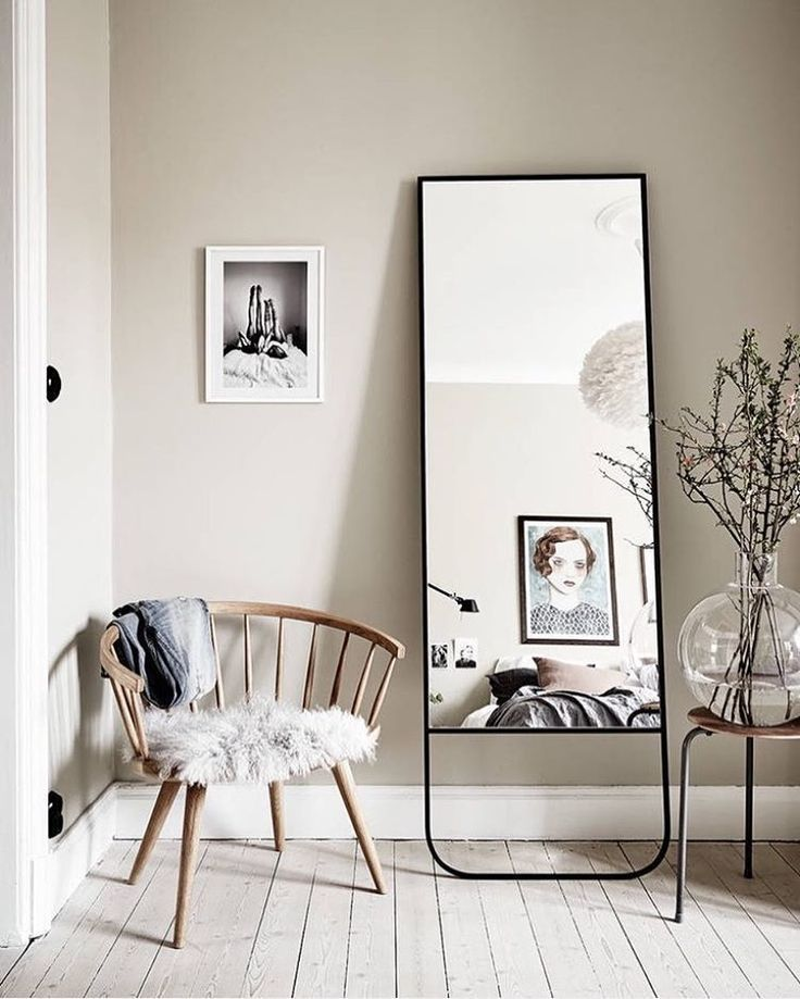 Simple And Creative Tricks Oversized Wall Mirror Small Spaces T Living Room Scandinavian Scandinavian Interior Design Inspiration Scandinavian Interior Design #oversized #wall #mirrors #for #living #room
