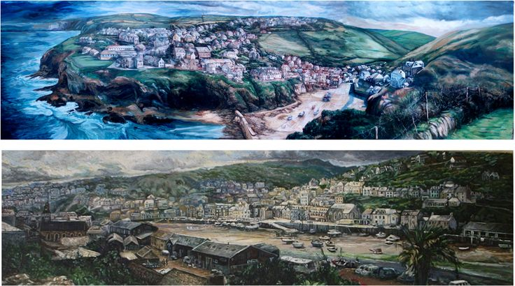Paintings of Cornwall