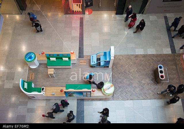 Westfield Shopping Centre at Stratford East London UK Stock Photo