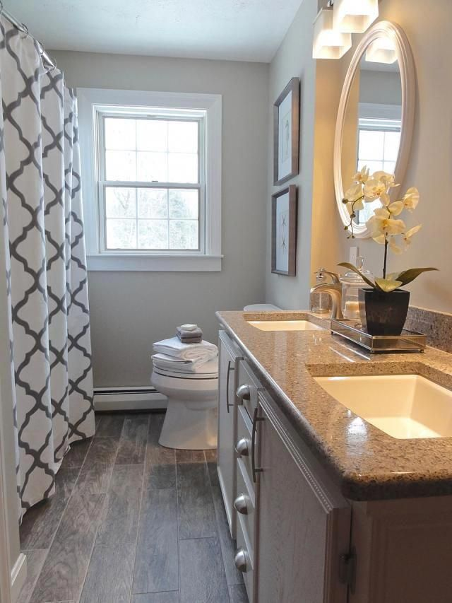 See Why Top Designers Love These Paint Colors For Small Spaces Benjamin Moore Revere Pe Small Bathroom Makeover Simple Bathroom Designs Small Bathroom Remodel