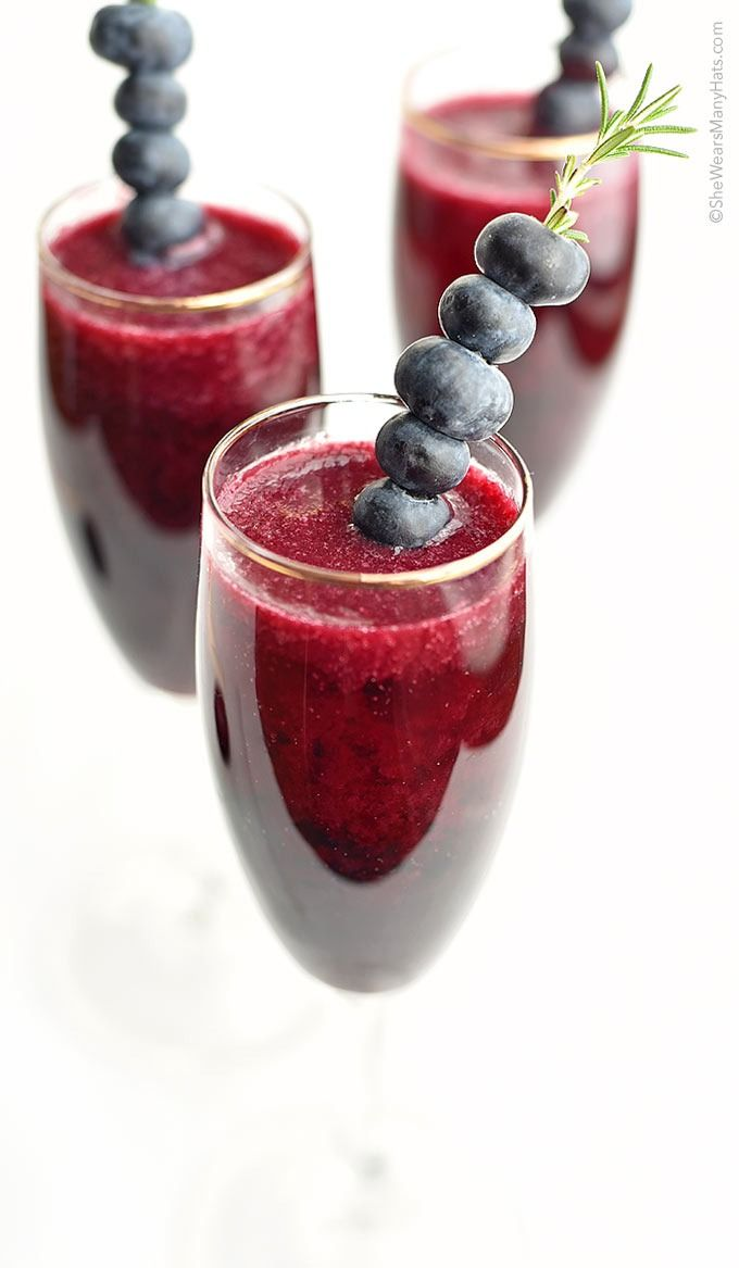 Deser williams pictures to pin on pinterest - Blueberry Bellini Recipe
