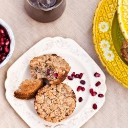 Pomegranate Streusel Muffins. Another delightful way to enjoy the ...